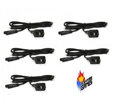 Lot of 5 Universal Power Cords for PS4/ PS3 Slim/ PS2/ PS1/ Xbox/ Dreamcast