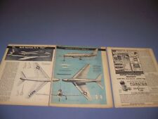 "VINTAGE..GRUMMAN 'BLUE ANGELS"" F9F-8 COUGAR.. CUTAWAY/PHOTO/DETAILS (766G)"