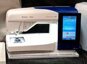 Husqvarna Viking Designer Brilliance 80 Sewing & Embroidery Serviced elehosp