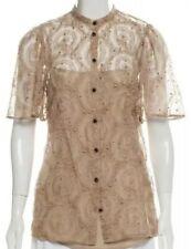 FENDI Lace Embellished Blouse IT 38