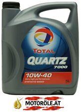 1x 5l LITER TOTAL QUARTZ 7000 ENERGY 10W40 MB 229.1 VW 501.01/502.00/505.00