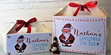 Personalised Christmas Gift Box Tasteful Designs Christmas Eve or Christmas Day