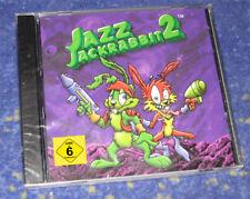 Jazz Jackrabbit 2 RARITÄT PC Klassiker Kult Jump and Run NEU und verschweisst