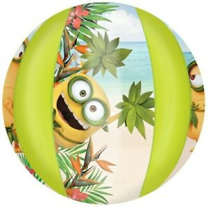 Despicable Me Minions Bob Beach Ball 13 inches Water Bath Pool Party Inflatable