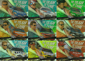 2000 Trackside TOO TOUGH TO TAME #TT4 Tony Stewart SCARCE! ONE CARD ONLY!