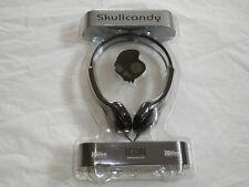Skullcandy Icon GunMetal Headphones 30mm Drivers