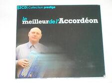 228 // LE MEILLEUR DE L'ACCORDEON EDIT PRESTIGE 2 CD 42 TITRES