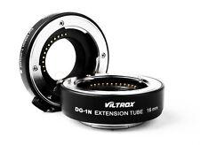 Viltrox DG-1N Macro Extension Tube 10mm+16mm Adapter Kit for Nikon 1 J1 J2 V1