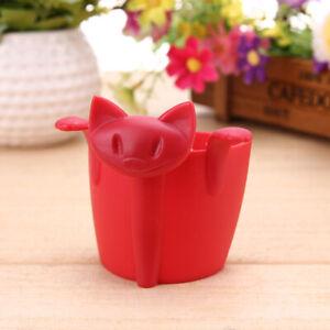 Cute Kitten Tea Strainer Tea Infuser Creative Cat Tea Strainer Animal Tea Drain