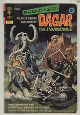 Dagar the invincible #1 October 1972 VG First issue