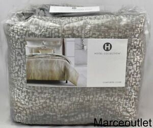 Hotel Collection Terra KING Duvet Cover Gray