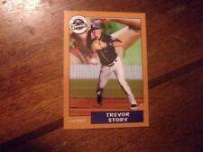 2012 ASHEVILLE TOURISTS TREVOR STORY Minor League Single Card COLORADO ROCKIES