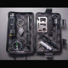 10 in 1 Survival Kit Outdoor Travel Hike Field Camp Emergency Gear Professional