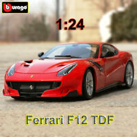 Bburago 1:24 Scale Ferrari F12 TDF Diecast Model Car Sports Car Collection Gift