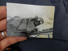 SPOOKY MACABRE FAKE SKULL IN 1930s era AFGHANISTAN  IRAQ CAMPAIGN  SCARY FUN !