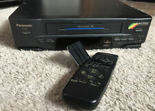 New ListingPanasonic Pv-4511 Vhs Vcr Video Player Recorder 4 Head Vcr Tested Remote Nice