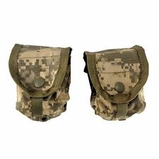 Frag Hand Grenade Pouch -- ARMY ACU -- MOLLE II Small Utility USGI