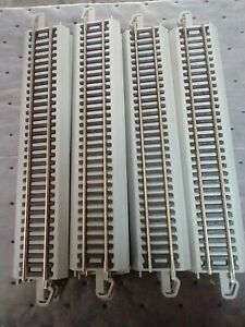 """Bachmann EZ Track HO 9"""" Straight Track - Lot Of 34 - New"""