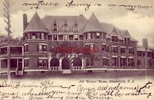 pre-1907 JOB HAINES HOME, BLOOMFIELD, N. J. Home for Aged People 1905