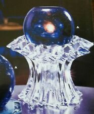 "PartyLite Lead Crystal ""Aurora"" Candle Holder, Nib"