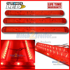"LED Bar light kit, 15"" RED Stop, Turn, Tail with matching ID bar Trailer, Truck"