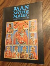 1970 Man Myth & Magic Magazine #17 Encyclopedia of The Supernatural By Purnell