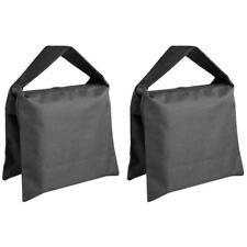 2 Pack Heavy Duty Photographic Sandbag for Studio Video Light Stands Tripod