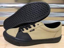 91939fc2c8b Vans Style 205 Twill Canvas Skate Shoes Khaki Tan Black SZ 9 ( VN0A3DPTUR5 )