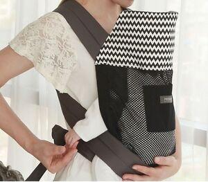 PODAEGI  Infant Baby Carrier Sling Cotton Cool Mesh Korea No Waist Buckle&Belt