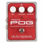 Electro Harmonix Micro POG Guitar / Effects Pedal for sale