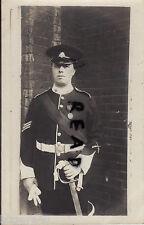 soldier Col Sergt East Surrey Regiment TFEM Territorial Force Efficiency Medal