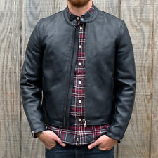 Deus ex Machina - Cafe Racer Leather Jacket - SAVE 30%
