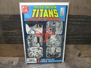DC comics tales of teen titans judas contract comic book number 42 great shape