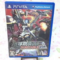USED PS VITA Earth Defense Force 3 PORTABLE PSV 96786 JAPAN IMPORT