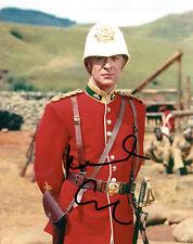 Michael CAINE SIGNED Autograph 10x8 Photo AFTAL COA Zulu Lieutenant BROMHEAD
