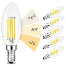 linovum® 6er Set fourSTEP E14 LED 4-Schritt-Dimmung per Lichtschalter 4W 2500K
