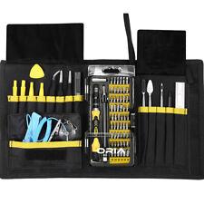 76-In-1 Magnetic Precision Screwdriver Set 56 Bits Phillip Kit With Kit Case