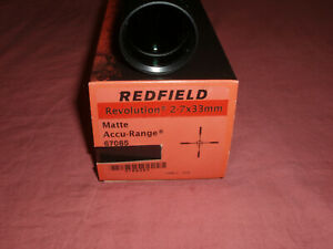 Redfield Revolution 2-7x33