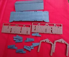 Plasticville O Scale 45992 Covered Bridge Complete New In Bag.