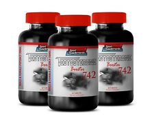Aging Male Sex Boost Pills - Testosterone Booster 742mg - Wild Yam Extract 3B