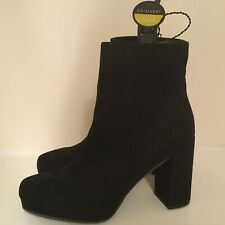 ladies size 8 ankle boots suede effect  from primarkNEW