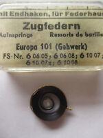 EUROPA Feder 3,40 mm Aufzugfeder Zugfeder Uhr Wecker Reisewecker clock spring