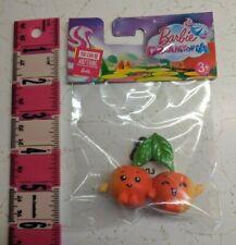 "Barbie Dreamtopia Sweetville Cherry Twins 2.5"" Mini Figure Doll Toy Pet New"