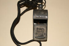 Old Signal Police Whistle