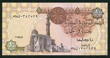 Egypt 1 pound 2007.10.05. Sultan Qait Bey Mosque P50l? Signature 22 UNC
