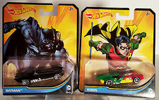 Hot Wheels Batman & Robin 1:64 Diecast 2012 DC Comics, New Mint wwvintage5star
