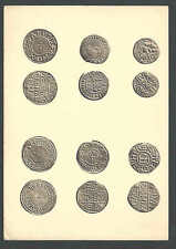 """1945 Historical Coins Of England In British Museum 6"""" X 4"""""""