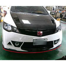 Painted For Honda Civic 8th Mugen RR Look Fog Light Cover Retainers RR Model Kit