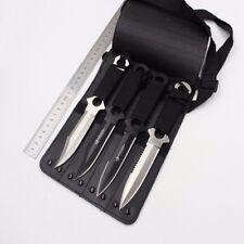 4in1 Stainless Steel Military Diving Hunting Knife