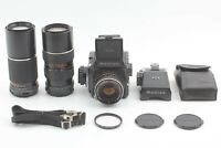 【EXC+++++】 MAMIYA M645 C 70mm E 105-210mm 300mm PD Waist Level from Japan #766